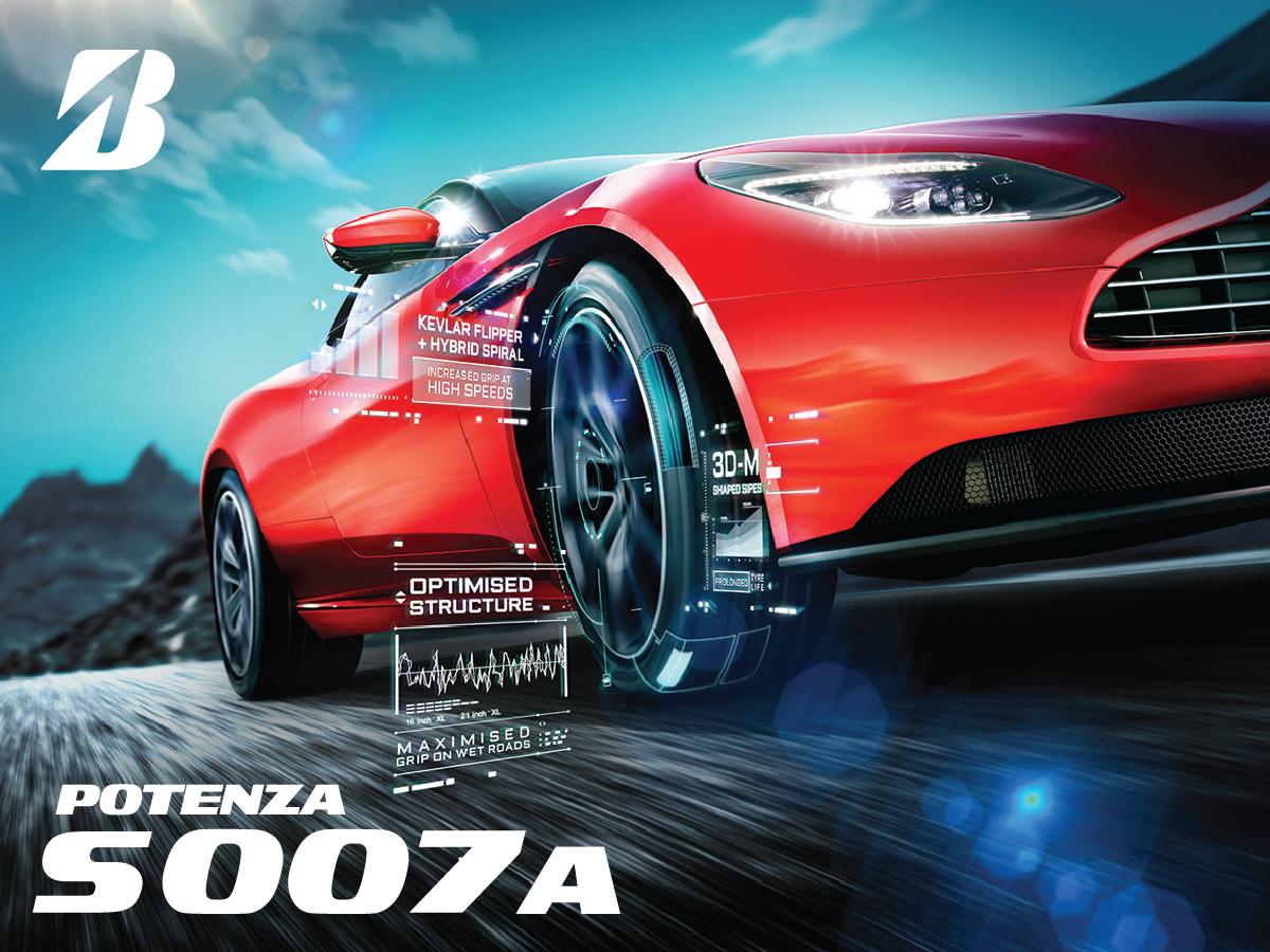 Potenza S007A | High Performance Tyre | Bridgestone Singapore