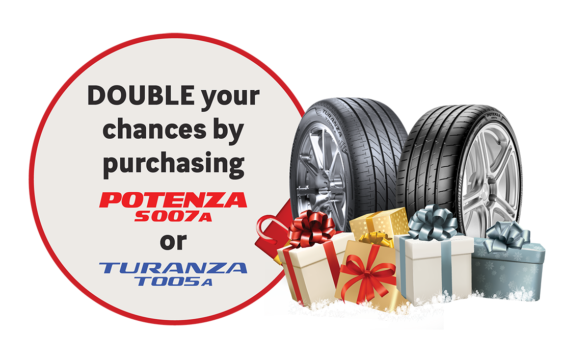 BRIDGESTONE YEAR-END TYRES SALES PROMOTION OFFER 2018