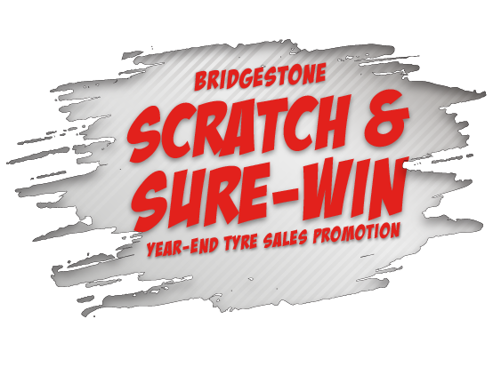 Scratch & Sure-Win Year-End Tyre Sales Promotion 2019
