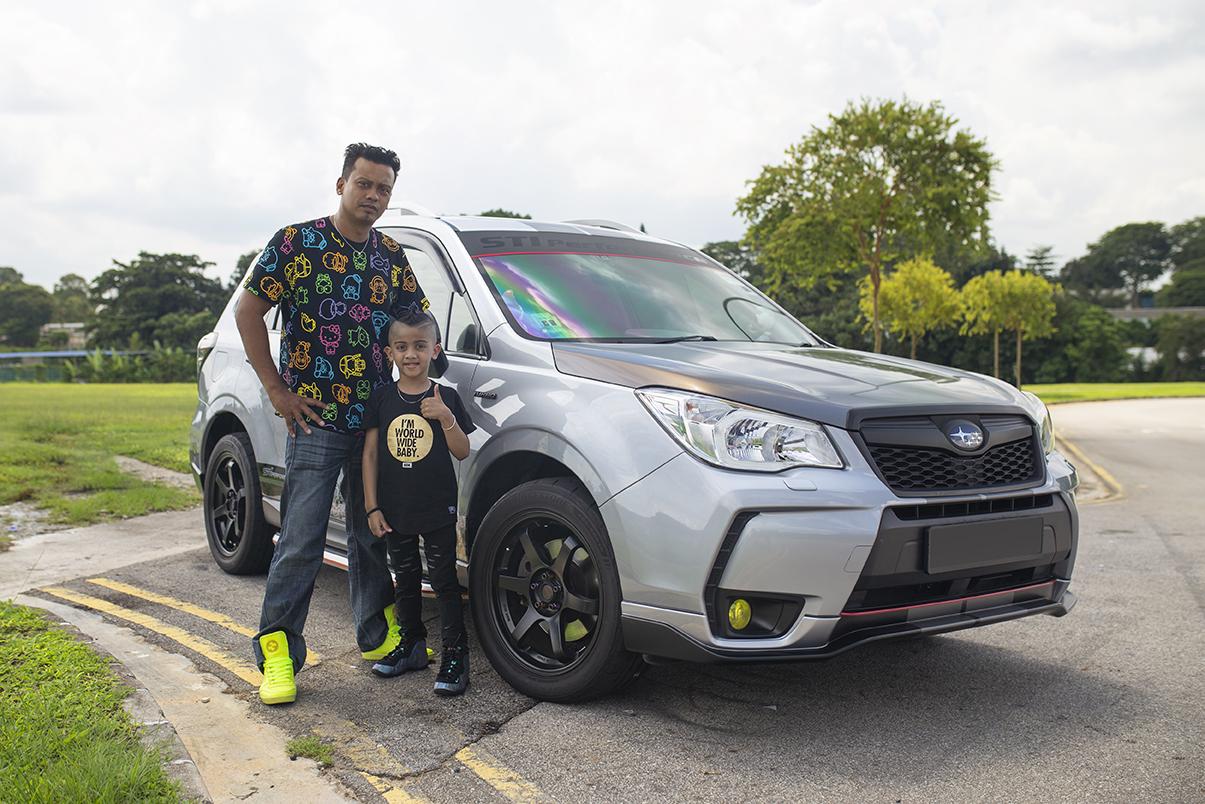 Dinesh S Subaru Forester Xt Owners Rides Bridgestone Singapore