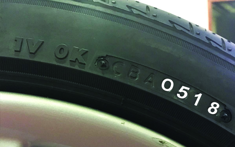 Bridgestone Tyre Date of Manufacture