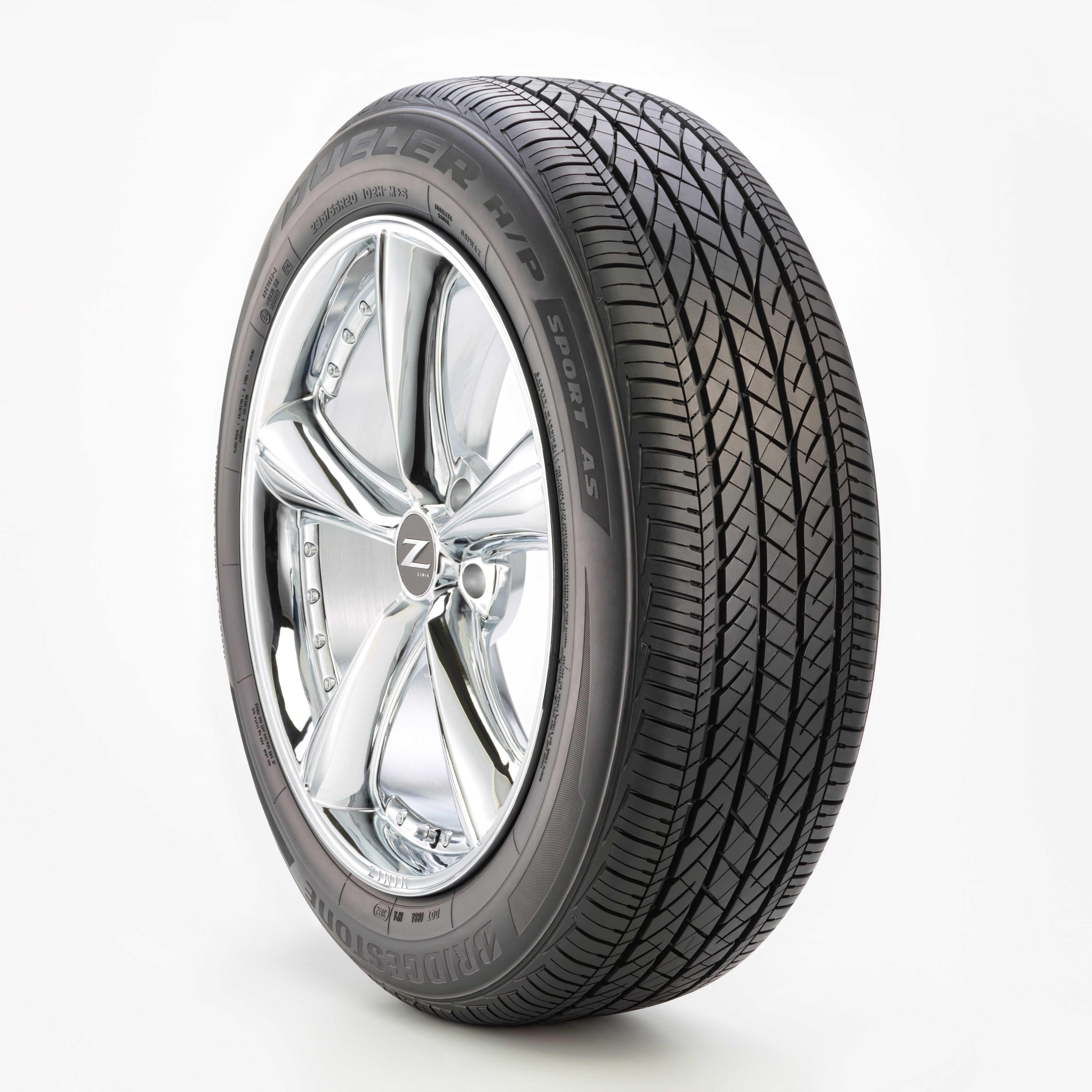 Dueler High Performance Asymmetric Run-Flat Technology Tyre